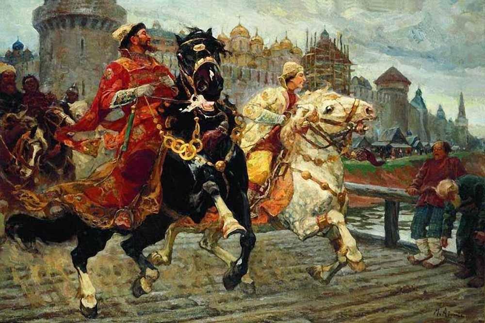 Paintings Of Avilov Mikhail Ivanovich