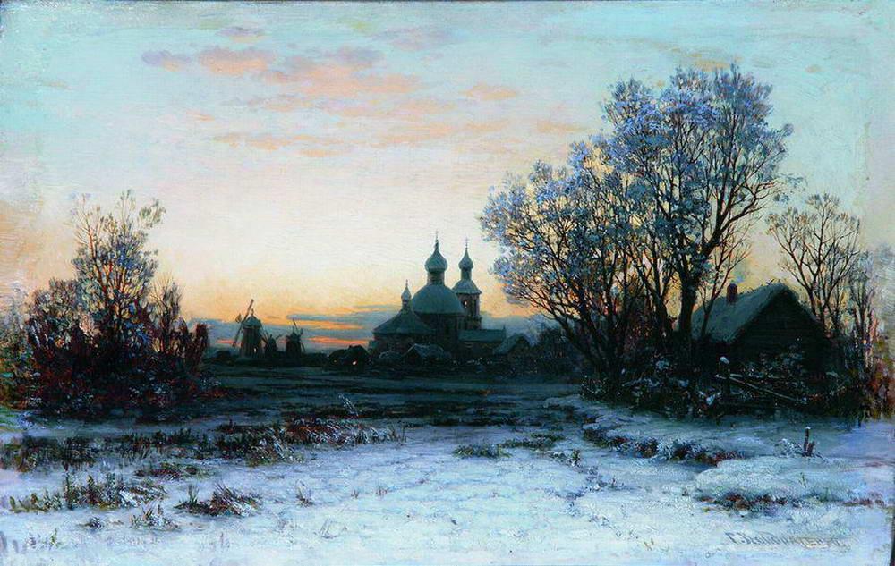 paintings of kondratenko gavriil pavlovich