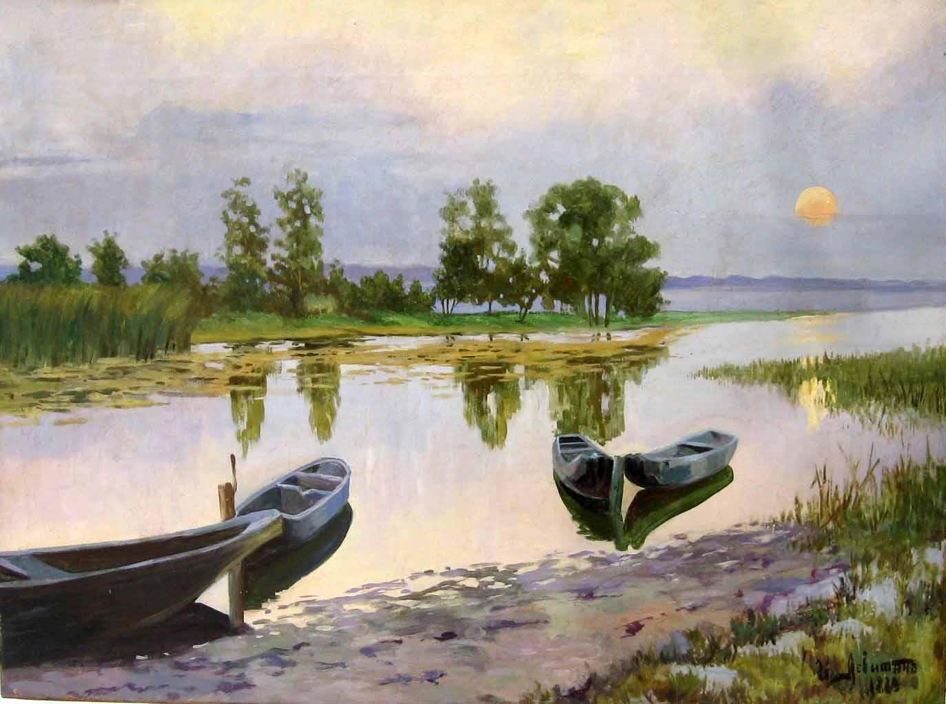 Paintings Of Isaac Levitan