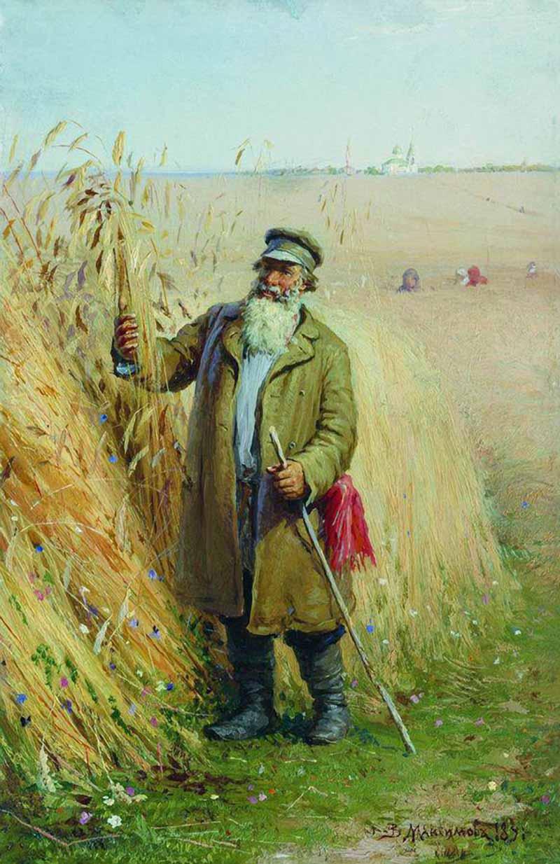 绘画 瓦西里·马克西莫夫(1844年至1911年)图片