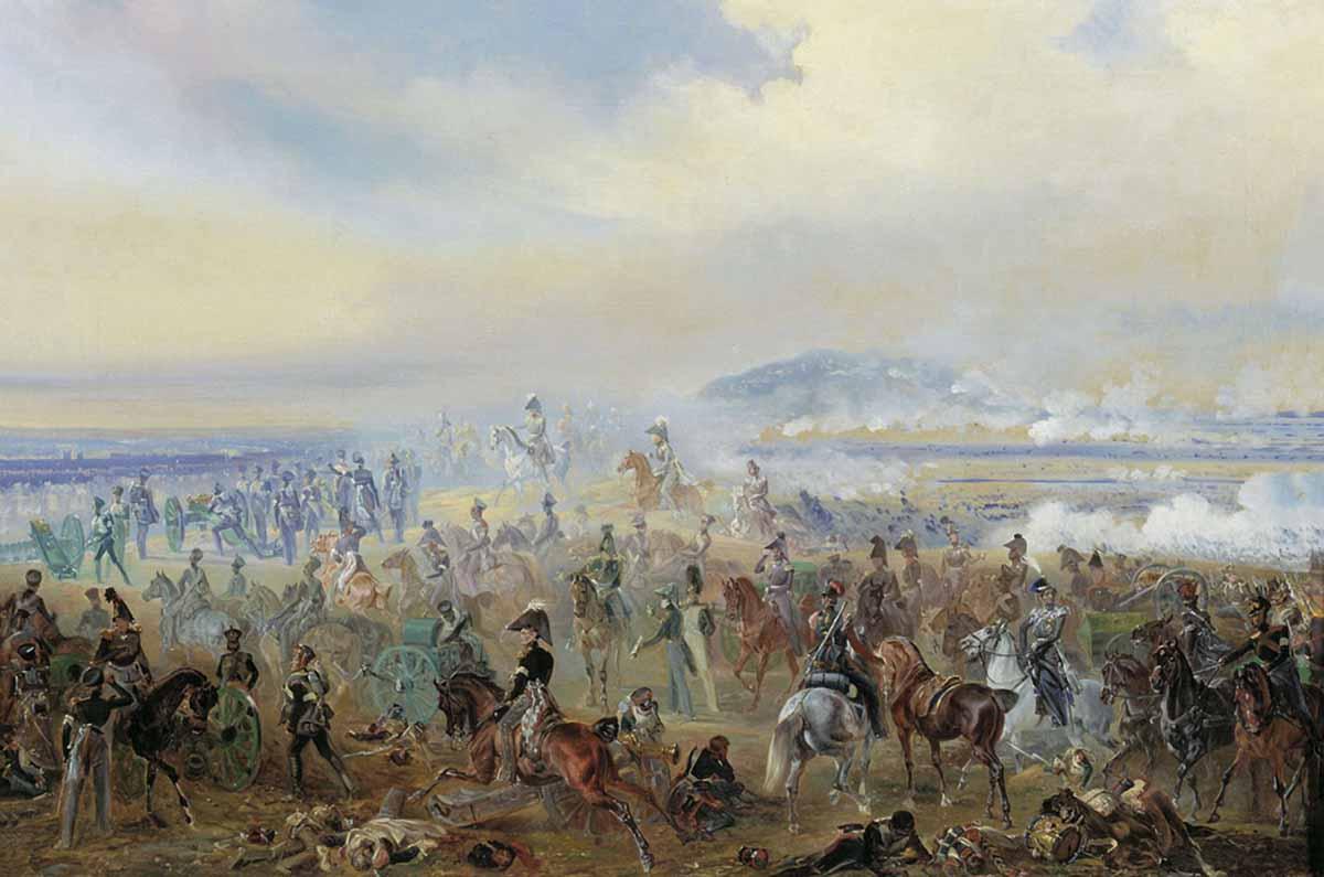 Battle Bautzen 1813 Battle of Leipzig in 1813