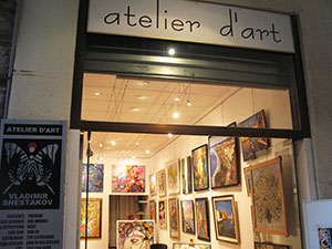 art gallery in Nice