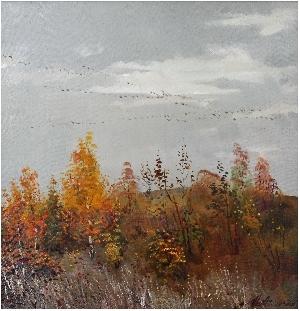 картина Осенняя грусть