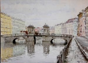 picture Lomonosov Bridge