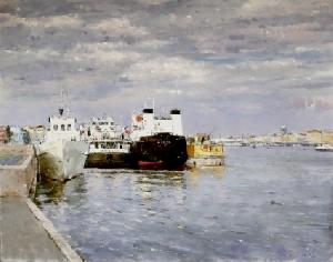 картина На набережной