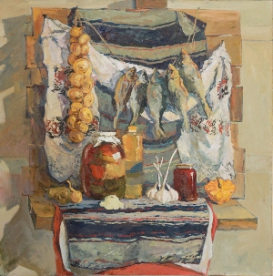picture Still life with fish