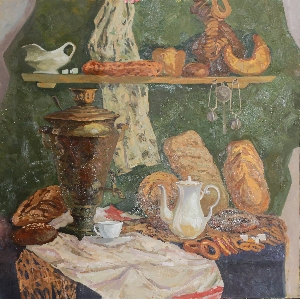 picture Bread still life