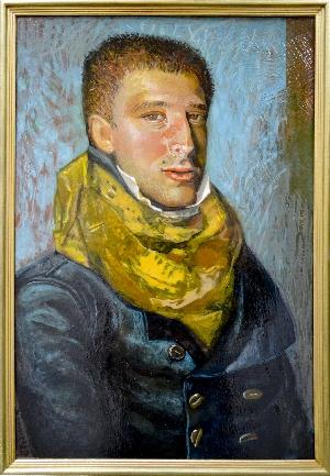 图片 年轻男子的肖像