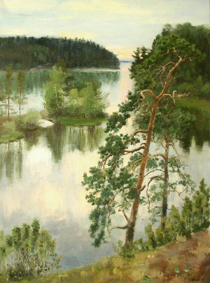 White Nights on Valaam