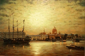 Evening on the Neva