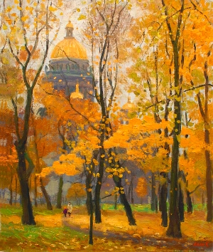 picture Autumn in St. Petersburg