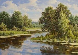 картина Белорусский мотив