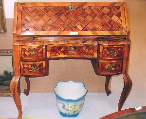 picture Marquetry Secretaire