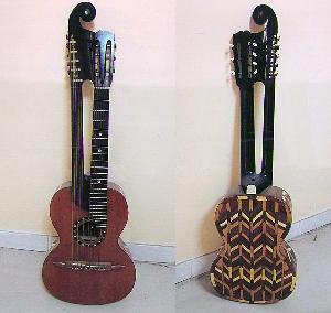 картина Инкрустированная гитара