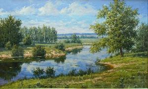 картина Река Березина