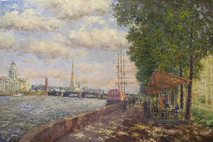 picture Neva Embankment