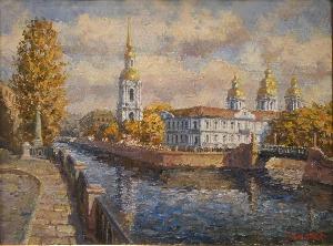 картина Никольский собор