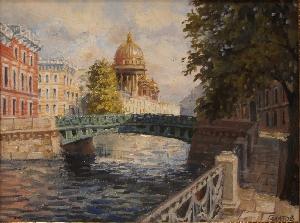 картина Поцелуев мост