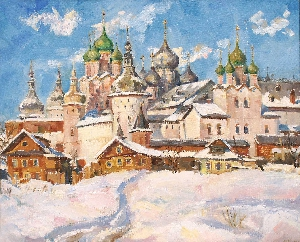 картина Ростов Великий