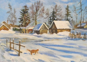 картина Конец зимы