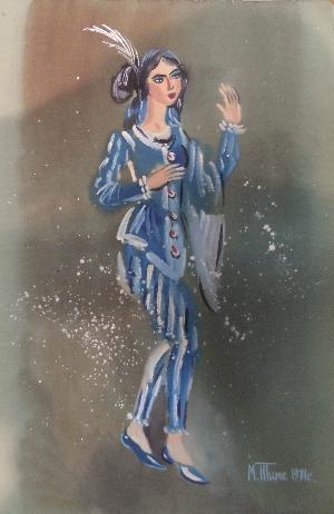 картина Актриса Де Марко