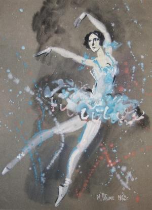 картина Балерина 02