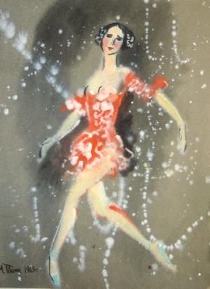 картина Балерина 03