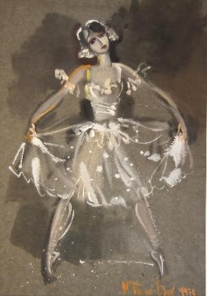 картина Балерина 04
