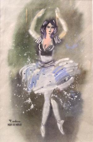 картина Актриса Де Марко 06