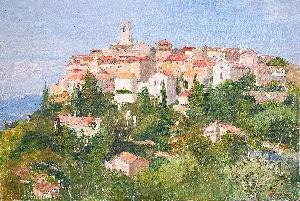 картина Франция Сен-Жаннет