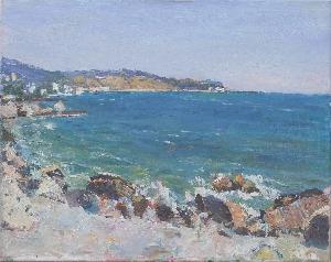 картина Крым. Море