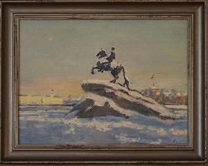 картина Памятник Петру I